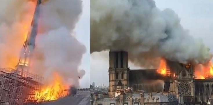 Notre-Dame w ogniu. Komentarze polityków - zdjęcie