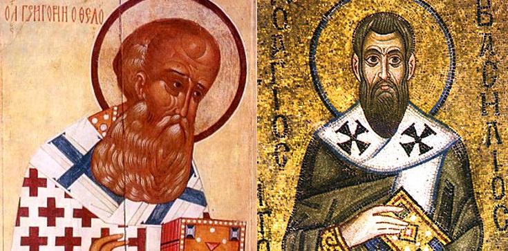 Święci Grzegorzu i Bazyli - módlcie się za nami! - zdjęcie