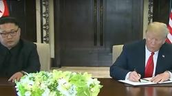 Trump i Kim Dzong Un podpisali bardzo ważny dokument - miniaturka