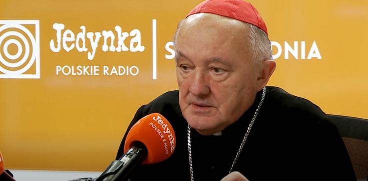"""Oświadczenie kard. Nycza w sprawie profanacji figury Chrystusa """"Sursum corda"""" przy Krakowskim Przedmieściu - zdjęcie"""