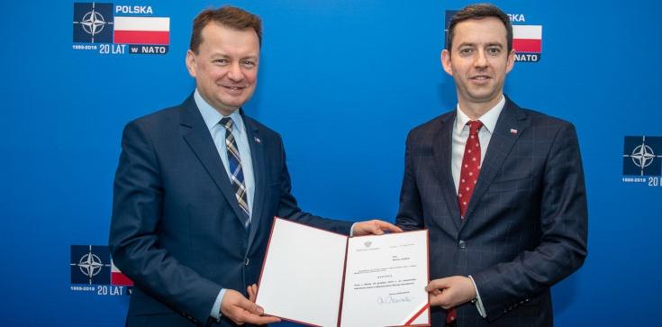 Marcin Ociepa nowym wiceszefem MON - zdjęcie