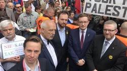 Konfederacja z AGROUnią. Protest przed KPRM - miniaturka