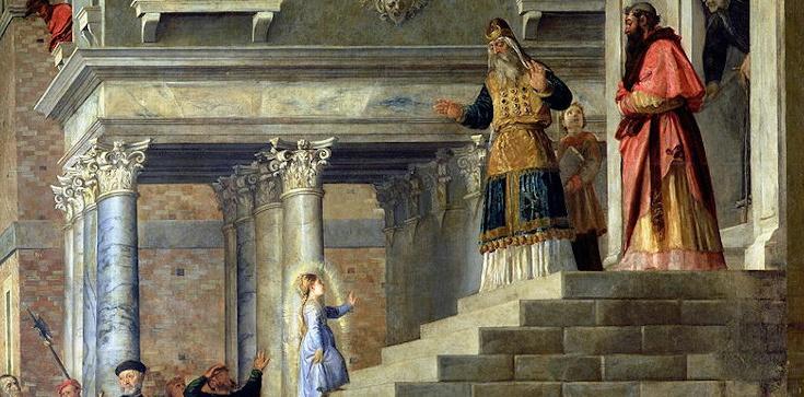 Pierwsze spotkanie Maryi z Bogiem - zdjęcie
