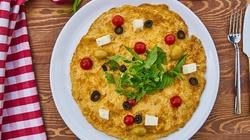 Ten dyniowy omlet z łososiem chodził za mną od rana - miniaturka