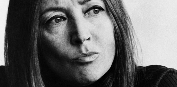 Oriana Fallaci: Wałęsa... nogi się pod człowiekiem uginają - zdjęcie