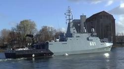 ORP ''Kormoran'' - nowy okręt Marynarki Wojennej - miniaturka
