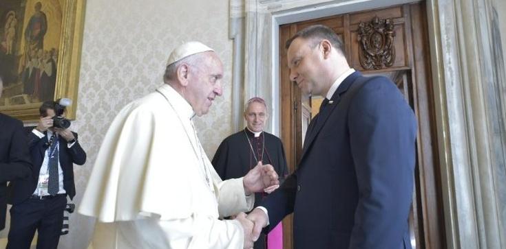 Jutro Papież zwróci się do ONZ i spotka się z prezydentem Dudą - zdjęcie