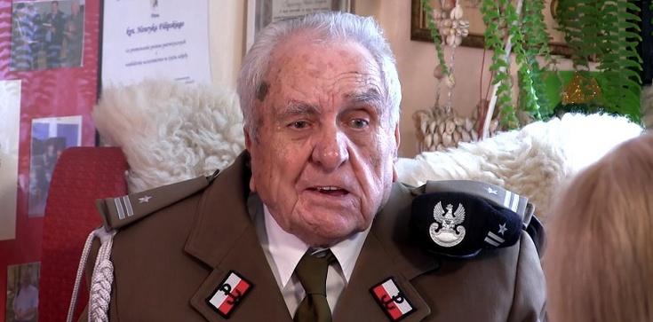 [video] W wieku 101 lat zmarł Powstaniec i Żołnierz Wyklęty płk Henryk Filipski ps. Jeremi - zdjęcie