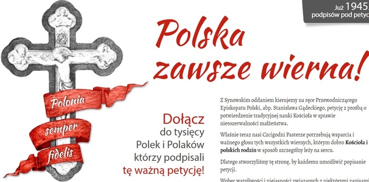 PODPISZ petycję do abp. Gądeckiego w sprawie Amoris laetitia - zdjęcie