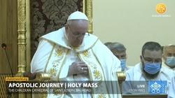 W Iraku Papież usłyszał śpiewy z początków chrześcijaństwa [Nagranie] - miniaturka