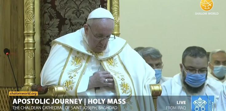 W Iraku Papież usłyszał śpiewy z początków chrześcijaństwa [Nagranie] - zdjęcie
