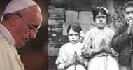 Mocne słowa papieża Franciszka do Polaków i Portugalczyków przed obchodami 100-lecia objawień w Fatimie