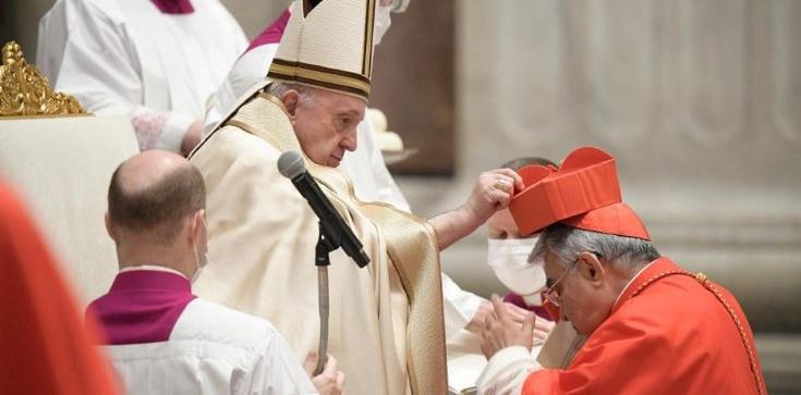 Papież ustanowił 13 nowych kardynałów - zdjęcie
