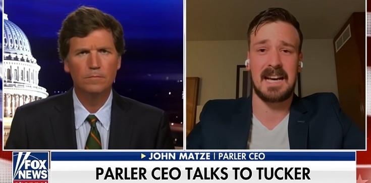 ,,Otrzymujemy groźby śmierci, nie nocujemy w domu'' – powiedział w Fox News ukrywający się z rodziną szef serwisu Parler - zdjęcie