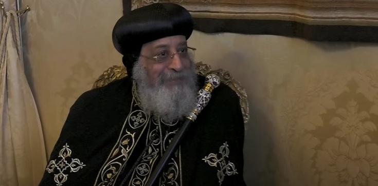 Koptyjski patriarcha Tawardos: Media społecznościowe to nie droga do nieba - zdjęcie