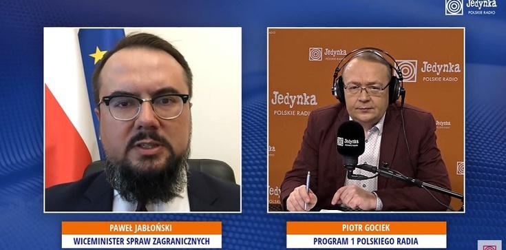 Wiceszef MSZ: Pratasiewicz był poddawany przemocy. Widać to wyraźnie - zdjęcie