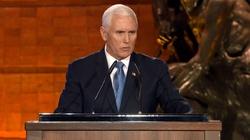 Ważne przemówienie wiceprezydenta USA. ,,Naziści nadali polskiemu miastu niemiecką nazwę, by wykorzenić polską kulturę'' - miniaturka