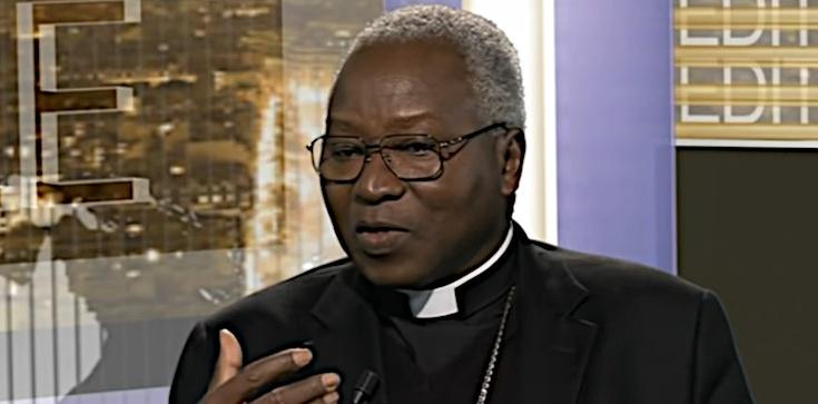 Afrykański kardynał: Buntujcie się przeciwko ,,małżeństwom'' jednopłciowym! - zdjęcie
