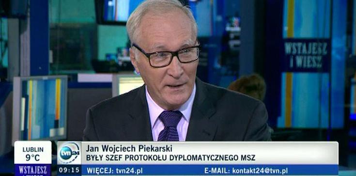 Piekarski były ambasador i komentator TVN - agent wywiadu PRL i moralista - zdjęcie