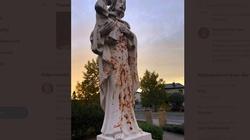 Kolejna profanacja i dewastacja figury św. Józefa i krzyżaw Pile - miniaturka