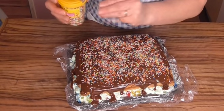 Zimowa nostalgia - ciasto ,,cygańskie śnieżki'' ją ukoi - zdjęcie