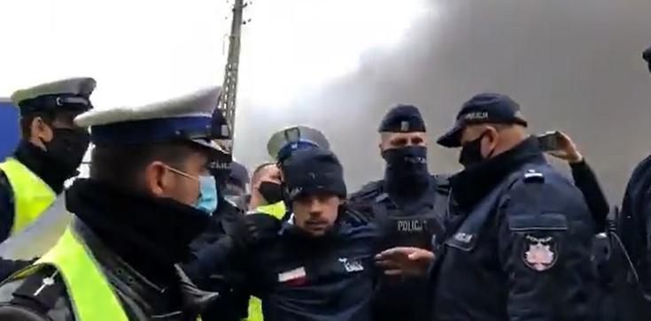 Policja zatrzymała lidera Agro Unii [Wideo] - zdjęcie