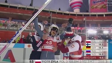 Brawo Polska! Piotr Żyła mistrzem świata w skokach narciarskich - miniaturka