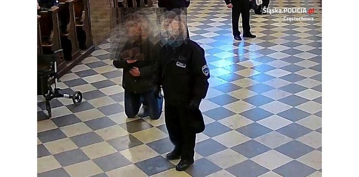 Sprawca pobicia strażnika Jasnej Góry sam zgłosił się na policję - zdjęcie