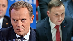 Donald Tusk goni Andrzeja Dudę. Ciekawy sondaż - miniaturka