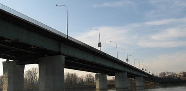 Most Łazienkowski znowu płonął! - zdjęcie