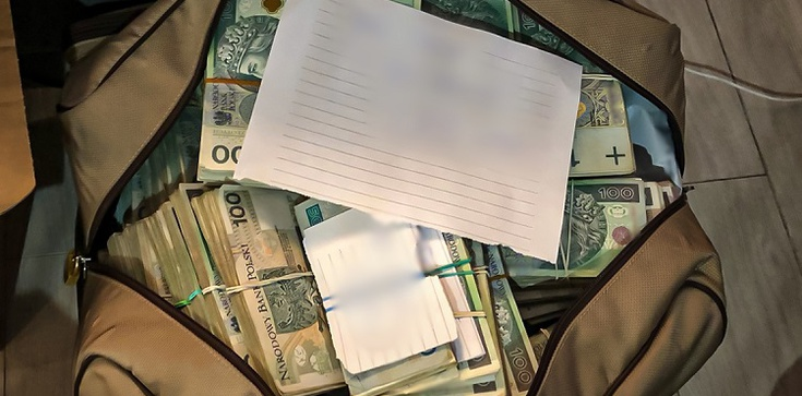 Cela plus! Ponad 13 mln zł w gotówce znaleźli policjanci CBŚP - zdjęcie