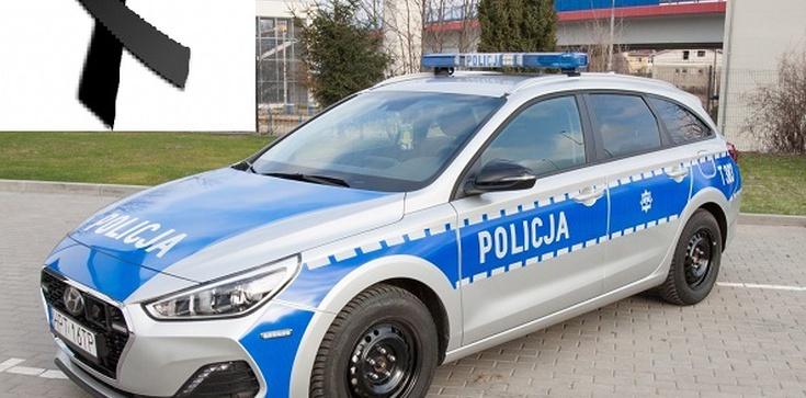Tragedia w Raciborzu. Zginął policjant postrzelony w trakcie kontroli drogowej - zdjęcie
