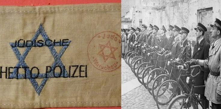 O czym milczał Tomasz Gross?: Żydowska policja w służbie Gestapo  - zdjęcie