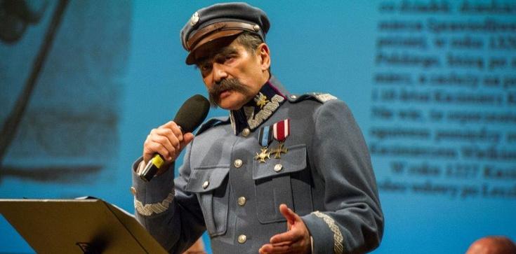 Inauguracja nowej polityki historycznej z udziałem… Marszałka Józefa Piłsudskiego. - zdjęcie
