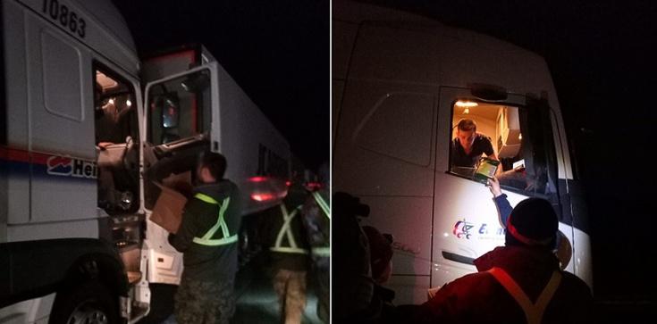 Europejczycy i europejskie media zachwyceni pomocą Polaków dla kierowców w Dover - zdjęcie
