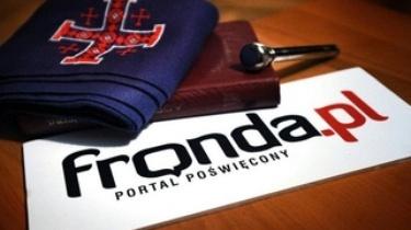 Portal Fronda.pl zatrudni dziennikarza - miniaturka