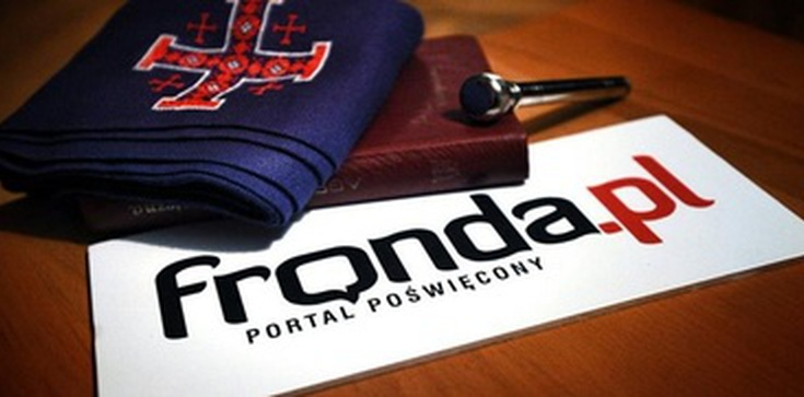 Portal Fronda.pl zatrudni dziennikarza - zdjęcie