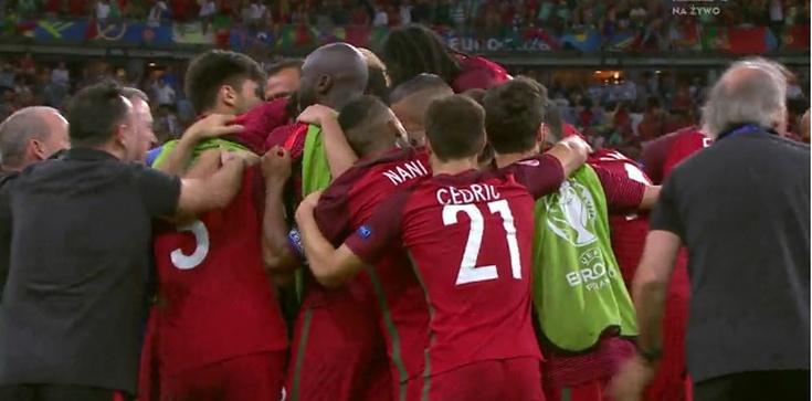 Portugalia Mistrzem Europy! Piękny gol Edera - zdjęcie