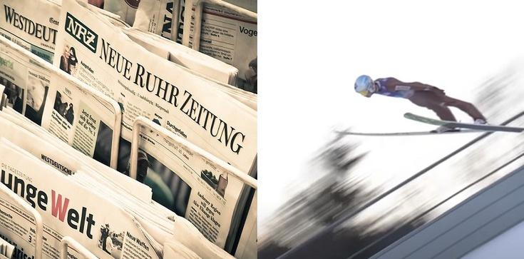 Niemieckie media: Konkurs narciarski w Oberstdorfie ,,przyćmiony przez polski rząd'' - zdjęcie