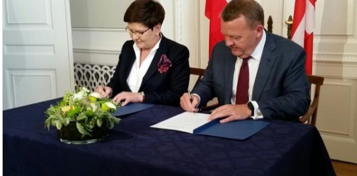 Dania: Premier Szydło podpisała memorandum ws. Baltic Pipe - zdjęcie