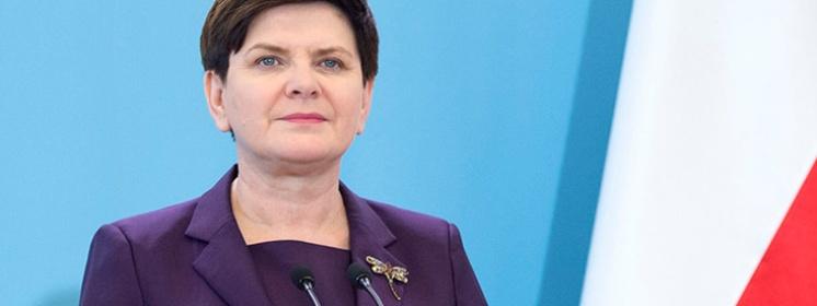 O 20 premier Beata Szydło wygłosi orędzie