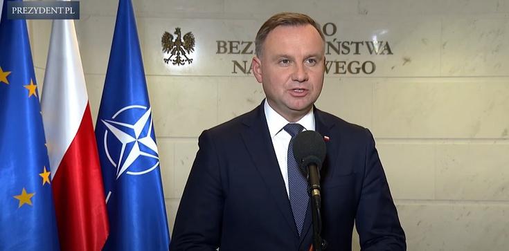 Prezydent: Zwrócę się do Sejmu o przedłużenie stanu wyjątkowego  - zdjęcie