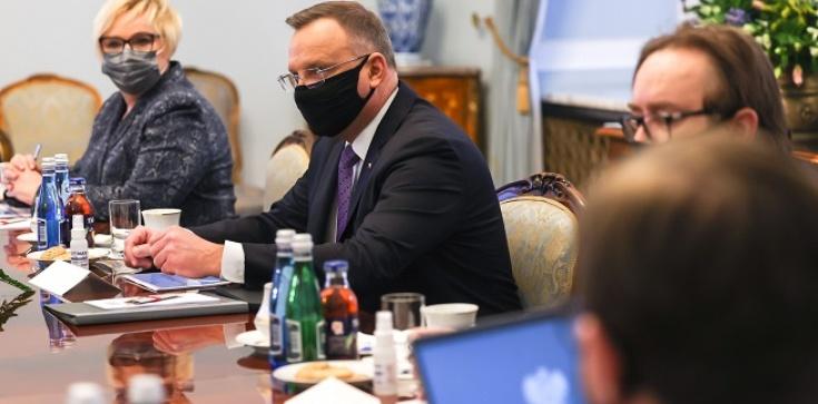 ,,Nowy Ład'' przedmiotem dzisiejszego spotkania Prezydenta i Premiera - zdjęcie