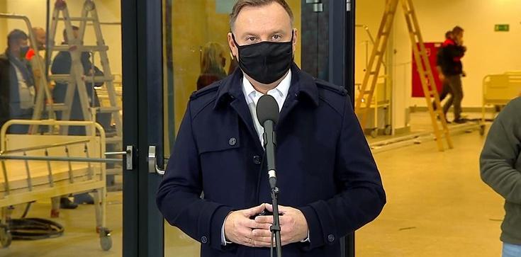 Prezydent Duda dziękuje Rafałowi Trzaskowskiemu - zdjęcie