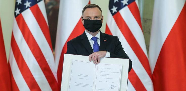 Prezydent Duda: Stosunki Polski z USA trwałe i silne jak jeszcze nigdy w historii! - zdjęcie