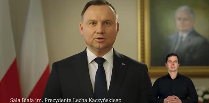 Duda: W Smoleńsku zginęli najlepsi z nas ... - zdjęcie