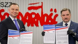 ,,Solidarność'' udziela poparcia prezydentowi Andrzejowi Dudzie w wyborach prezydenckich - miniaturka