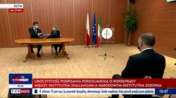 Prezydent Duda w Rzymie. Podpisanie umowy z Instytutem Spallanzaniego  - miniaturka