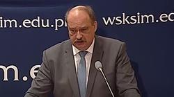 TYLKO U NAS. Prof. Wojciech Polak: W Brukseli musimy grać twardo i nie iść na żadne zgniłe kompromisy - miniaturka