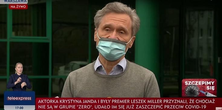 Szczepienia celebrytów, rektor WUM we władzach fundacji TVN - zdjęcie